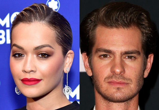 Rita Ora e Andrew Garfield (Foto: Getty Images)