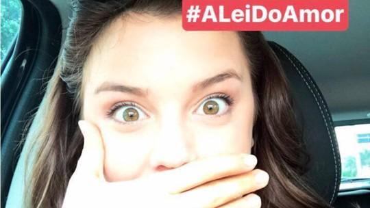 Alice Wegmann revela reação ao receber cenas finais de Marina em 'A Lei do Amor': 'Chocada'