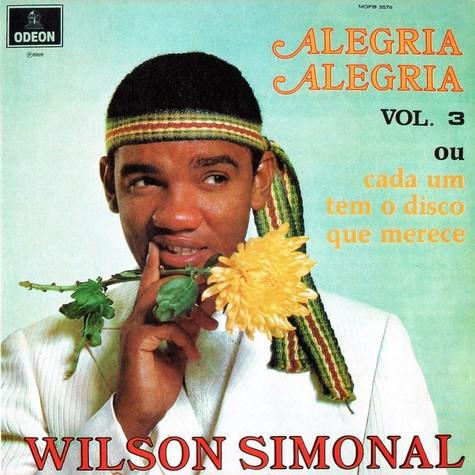 Capa do disco 'Alegria, alegria', de Wilson Simonal (Foto: Reprodução)
