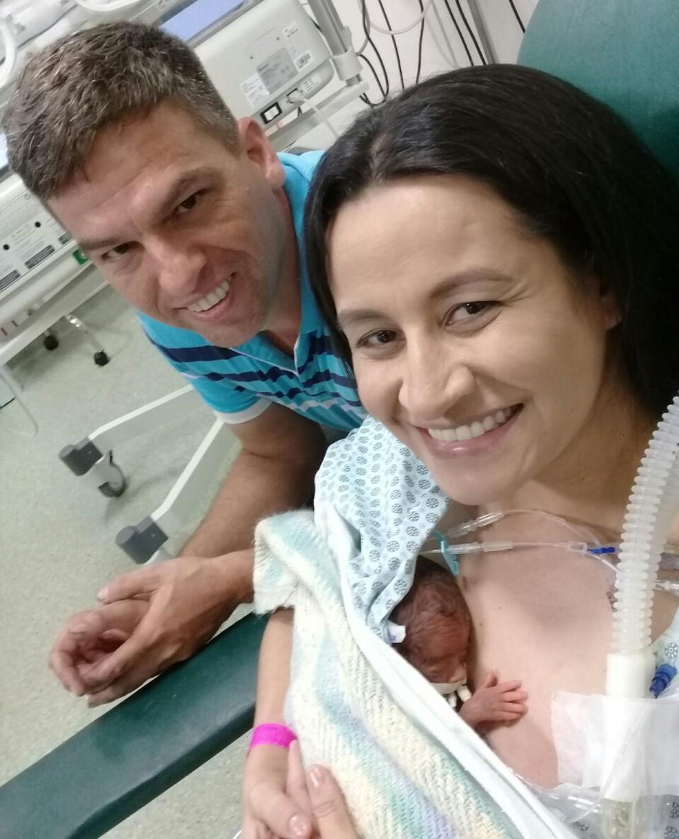 Família superou as dificuldades e está começando uma nova vida (Foto: Arquivo Pessoal)