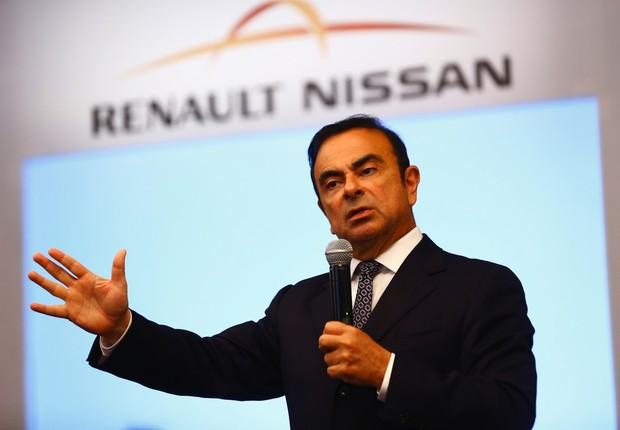 Carlos Ghosn, presidente de diretor-geral da Aliança, a sociedade entre Renault e Nissan (Foto: Getty Images)