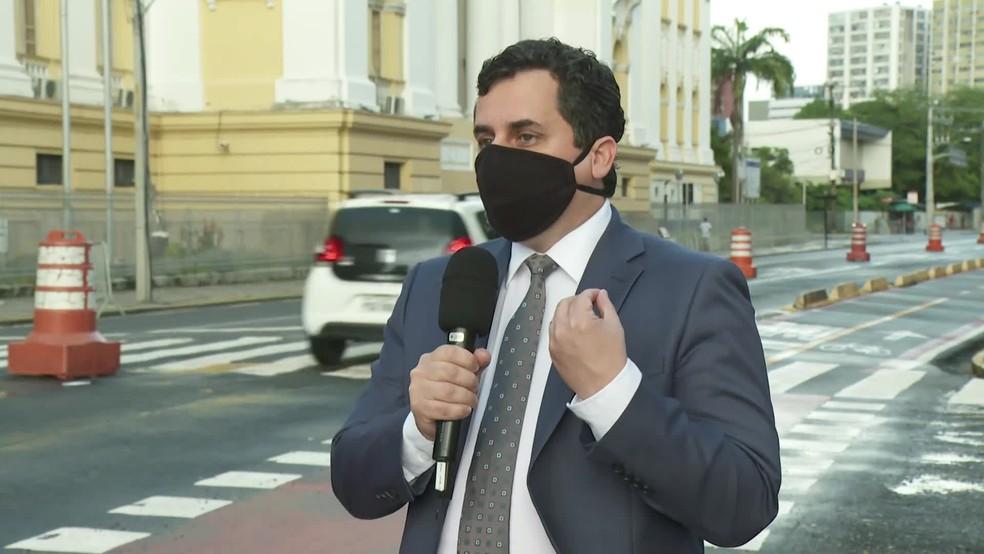 Sílvio Neves Baptista é desembargador do Tribunal de Justiça de Pernambuco — Foto: Reprodução/TV Globo