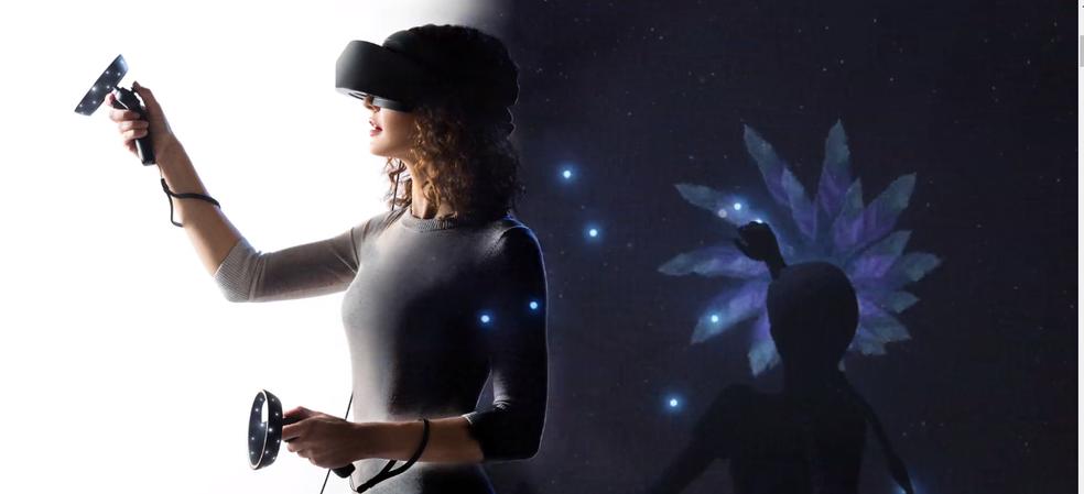 Realidade mista trás a experiência da realidade virtual para o Windows 10  (Foto: Reprodução/Luana Marfim)