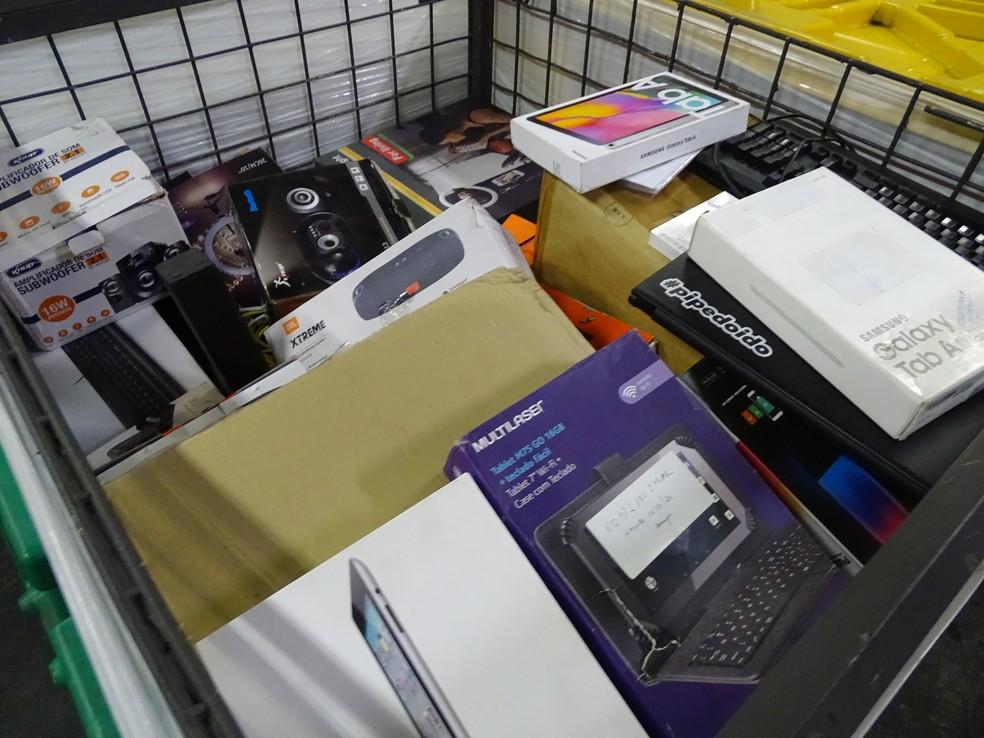 Equipamentos à venda em leilão dos Correios — Foto: Correios/Divulgação