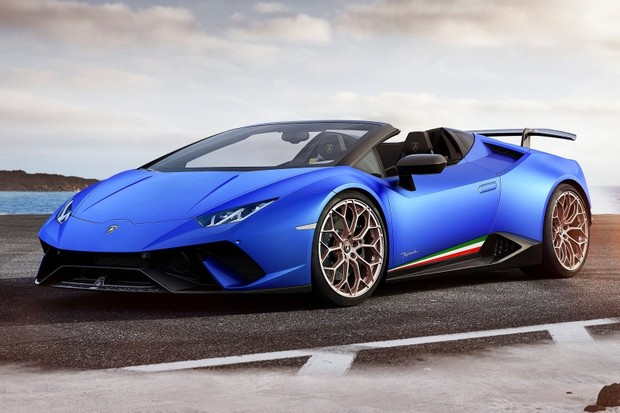 Lamborghini Huracán Performante Spyder 2019 (Foto: Divulgação)