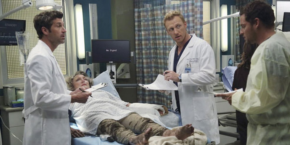 Cena da série Grey's Anatomy — Foto: ABC/Richard Cartwright