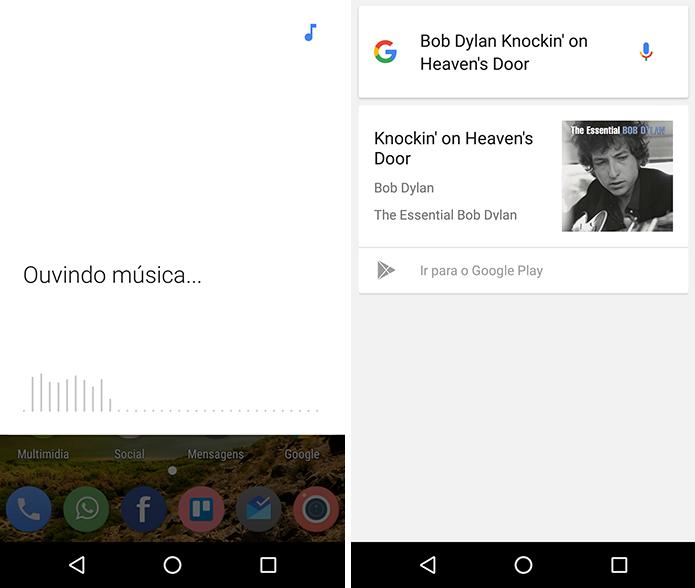 Use o celular para descobrir qual música está tocando (Foto: Reprodução/Paulo Alves)