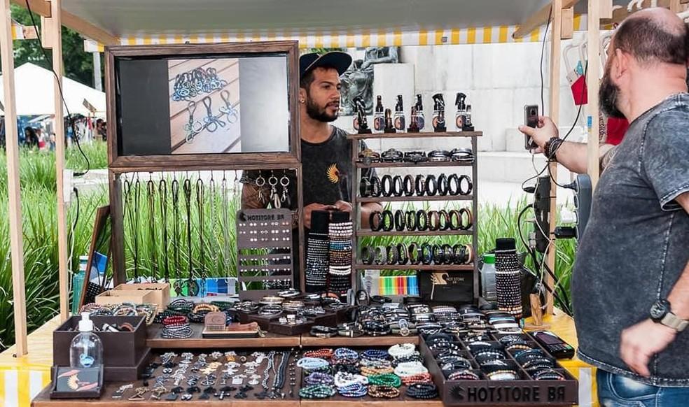Pequenos comerciantes de feira em Ipanema ganham ajuda de alternativa digital — Foto: Divulgação