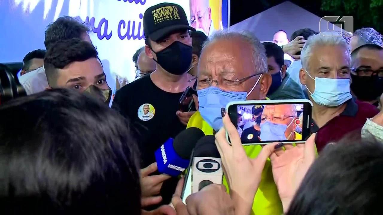Eleito prefeito de Teresina, Dr. Pessoa diz: 'Primeiro ato é cidadania aos excluídos'