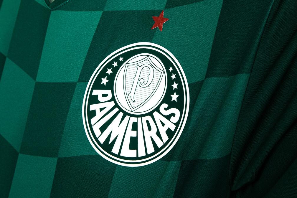 Símbolo do Palmeiras no novo uniforme — Foto: Divulgação