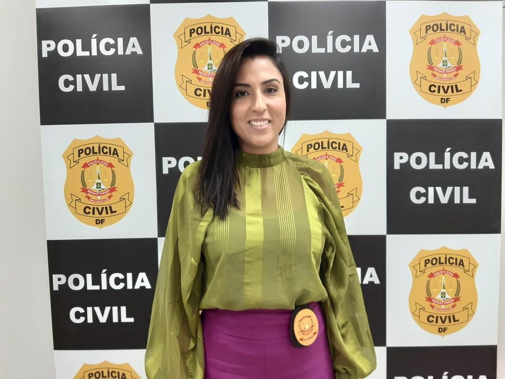Beatriz Figueiredo, perita da Polícia Civil do DF — Foto: Carolina Cruz/G1