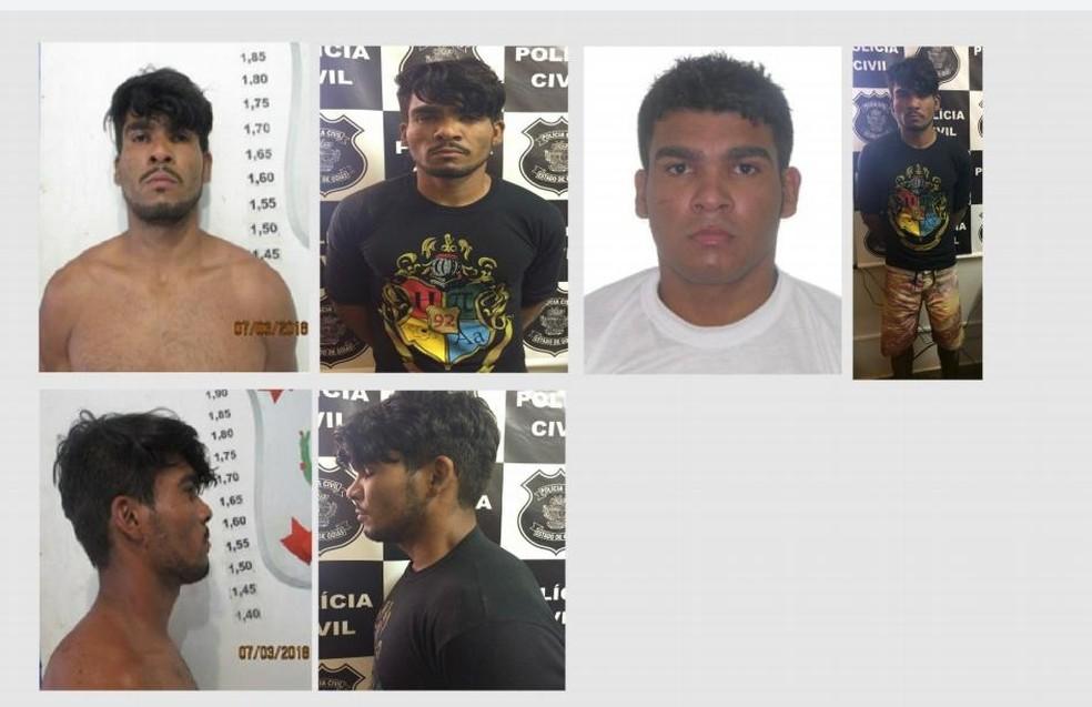 Lázara Barbosa de Sousa, suspeito de triplo homicídio no DF — Foto: Polícias Civil do DF e GO