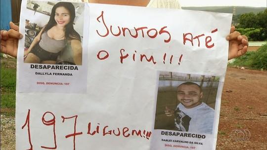 Amigos pedem ajuda para achar casal levado por supostos policiais em GO