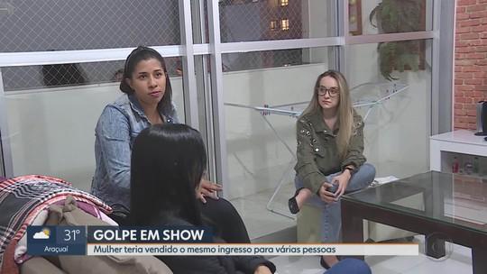 Mulher é suspeita de vender mesmo ingresso do show de Sandy e Junior em Belo Horizonte a várias pessoas