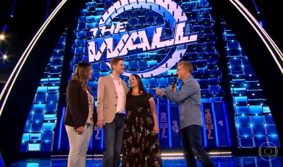 Infelizmente, a Ana Gabriela rasga o contrato e o Gabriel tinha zerado na parede. A dupla sai sem nada — Foto: Reprodução/TV Globo