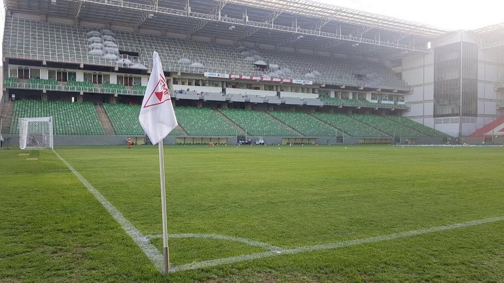 Independência será palco do primeiro clássico entre Atlético-MG e Cruzeiro, em 2018 (Foto: Twitter/FMF)