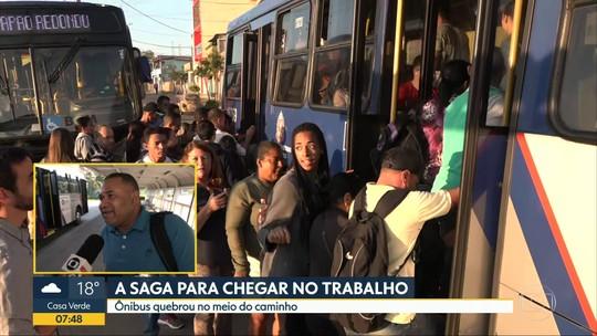 Equipe do Bom Dia SP acompanha saga do transporte dos moradores de Itapecirica da Serra