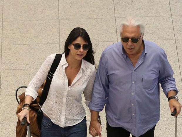Antonio Fagundes e Alexandraa (Foto: André Freitas/Agnews)
