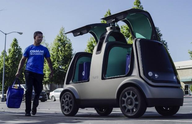 A Nuro planeja trocar os veículos por outros totalmente autônomos e personalizados (Foto: Divulgação)