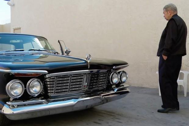 Chrysler Imperial sedã de Harris foi restaurado no programa Louco por carros (Foto: Divulgação)