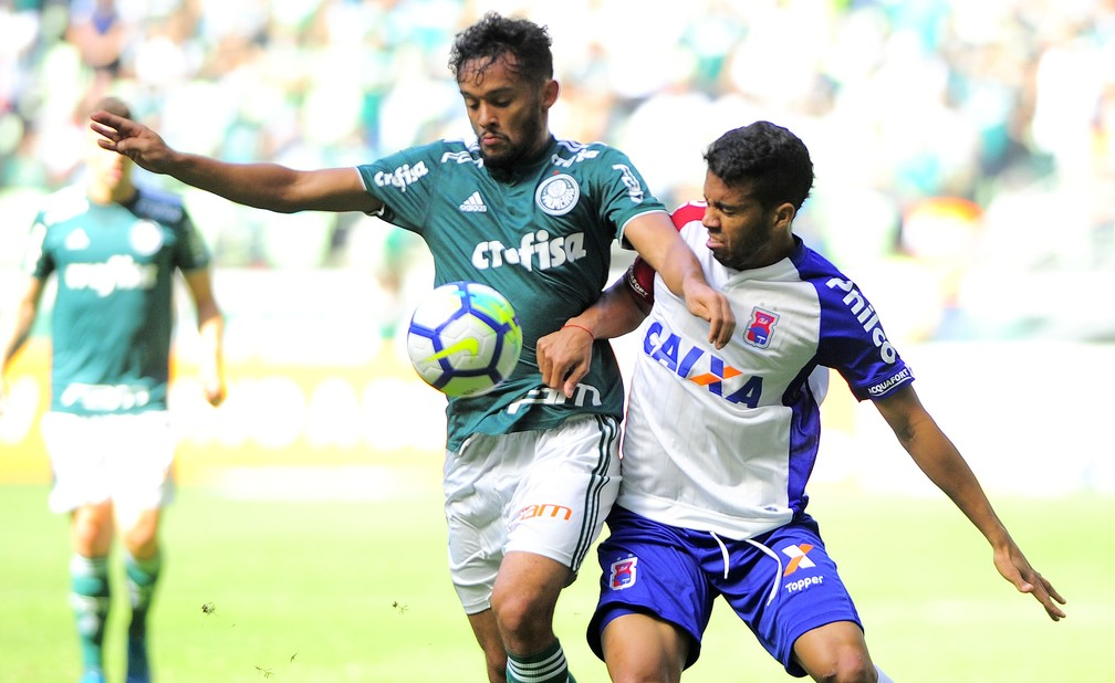 336a38b01b0e9 ... Palmeiras venceu o Paraná na arena Palmeiras — Foto  Marcos Ribolli