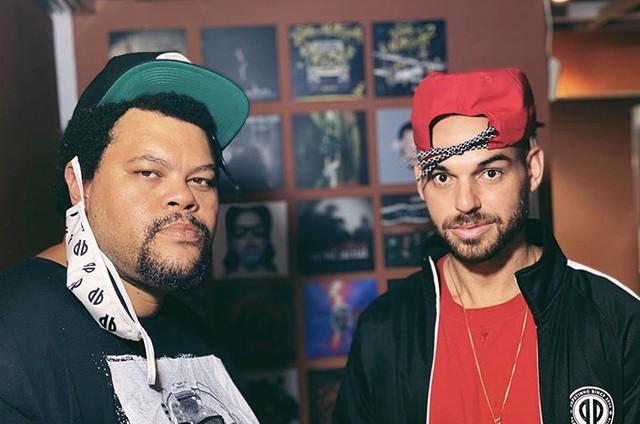 Babu Santana e Papatinho (Foto: Reprodução/ Instagram)
