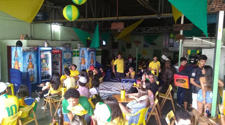 Bar do Capelão, em Viçosa, dobrou faturamento na Copa (Foto: Divulgação)