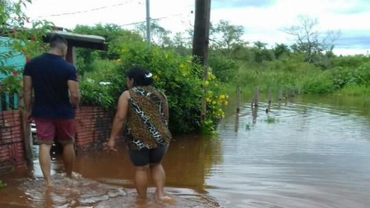 Foto: (Defesa Civil de Bela Vista/Divulgação)