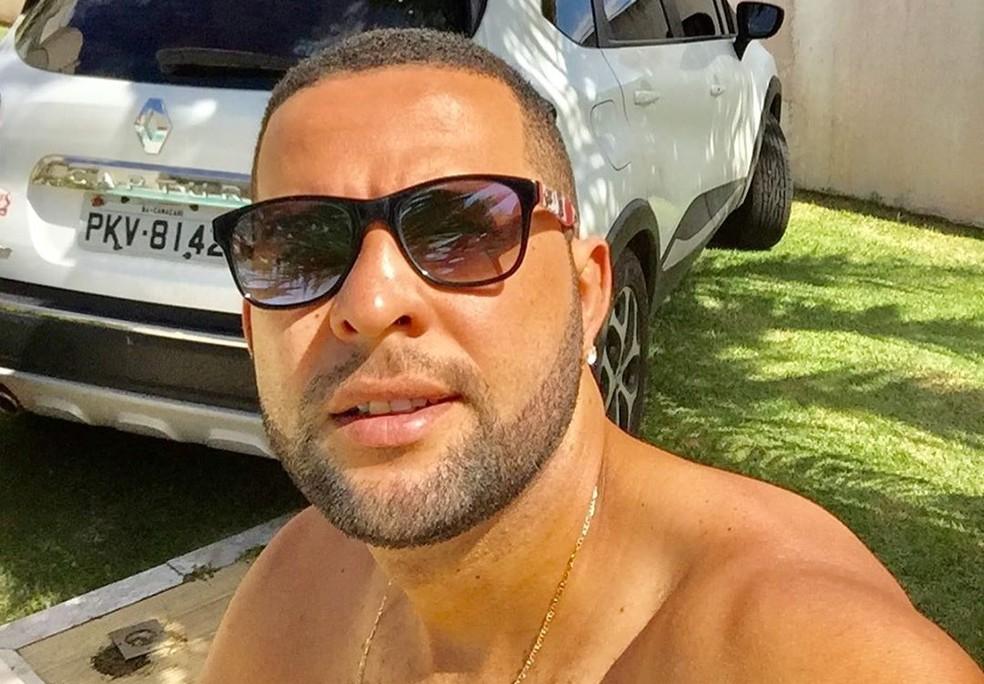 Vítima de homofobia, Marcelo Macedo foi agredido e baleado em um bar na Bahia  — Foto: Reprodução/Instagram