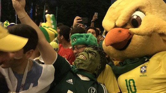 Foto: (Reprodução/Twitter/ @andrehernan/Globoesporte.com)