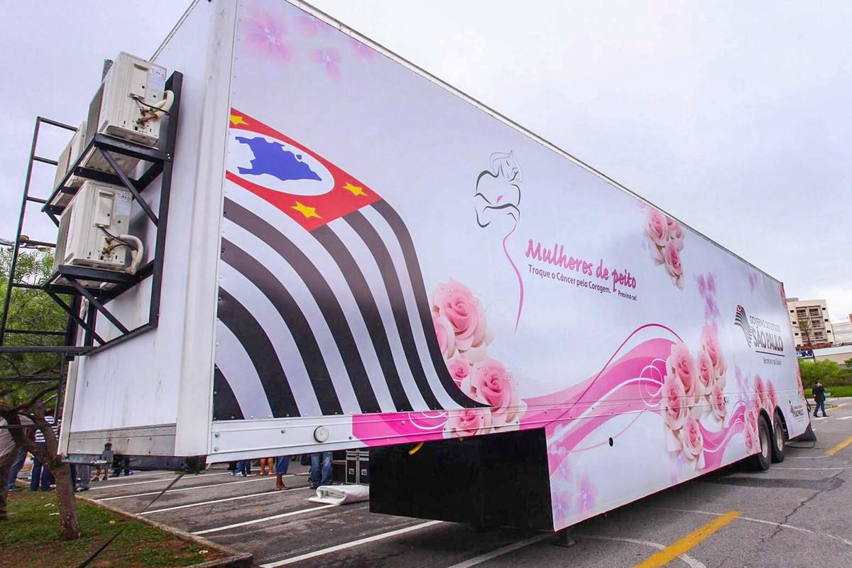'Carreta Mamamóvel' realiza exames gratuitos de mamografia em Indaiatuba