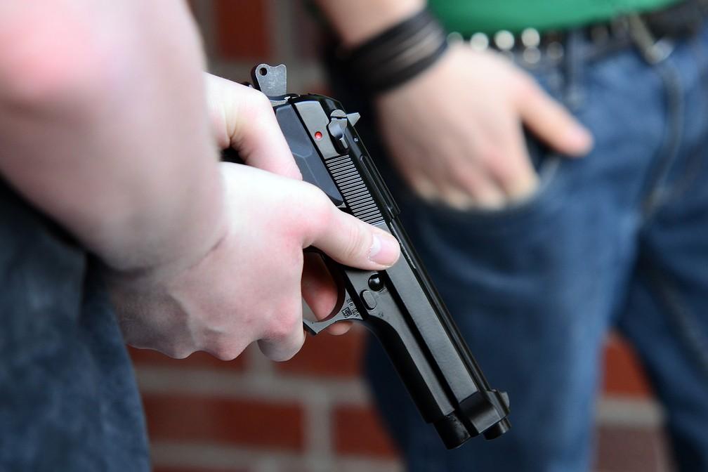 Mortes envolvendo armas de fogo são a segunda maior causa de óbitos entre crianças nos EUA — Foto: Pixabay