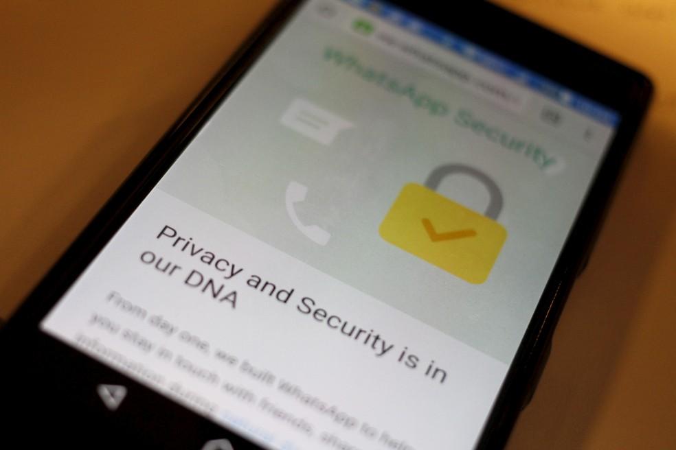 Segurança do WhatsApp foi comprometida por brecha em sistema de ligação — Foto: REUTERS/Thomas White