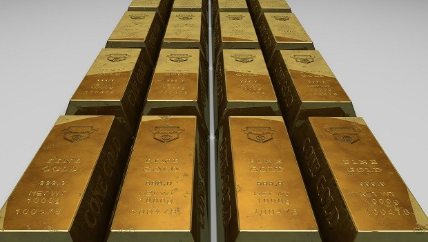 Barras de ouro (Foto: Pexels)