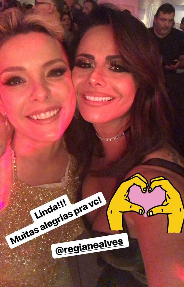 Regiane Alves e Viviane Araújo (Foto: Reprodução/Instagram)