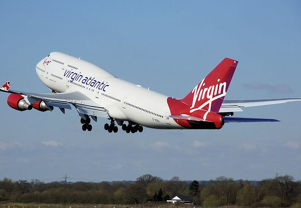 Aeronave da Virgin Atlantic (Foto: Wikipedia)