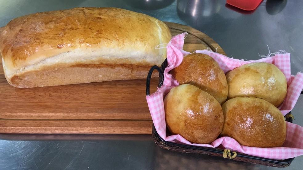 Veja como fazer pão em casa — Foto: Josmar Leite/RBS TV