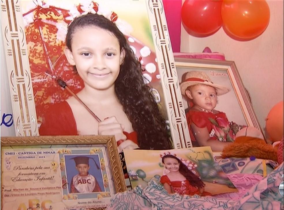 Laura Vitória desapareceu no dia 9 de janeiro de 2016 — Foto: Reprodução/TV Anhanguera