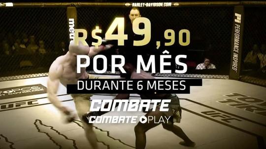 Promoção de fim de ano no Combate: assista ao UFC 245 por apenas R$ 49,90 por mês
