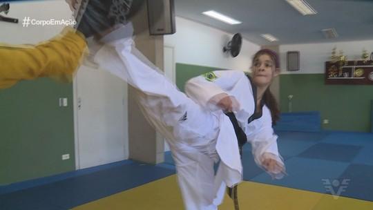Maria Clara Pacheco se destaca no taekwondo e sonha com Jogos Olímpicos de 2024