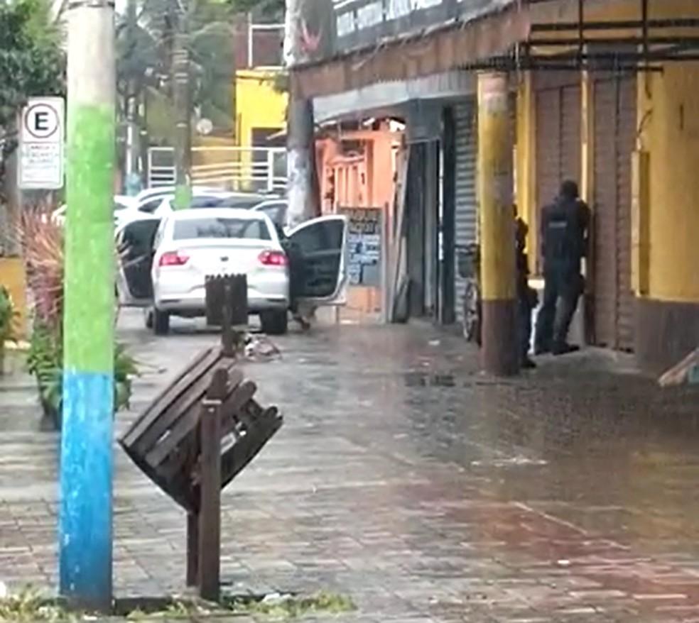 Casa lotérica fica no Centro de Paracambi — Foto: Reprodução/Redes sociais