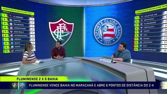 """""""Troca"""" repercute vitória do Fluminense e vê dificuldade em dupla Ganso e Nenê: """"Manda 8 correrem por dois"""""""
