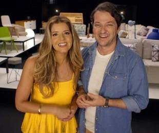Mariana Santos e Marcelo Serrado | Divulgação