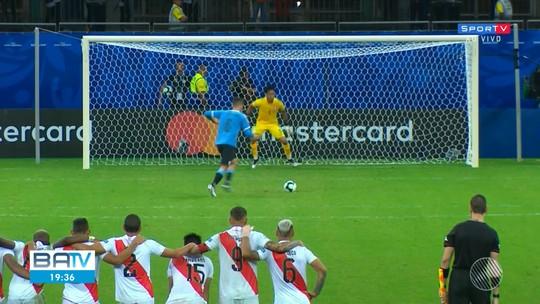 Peru derrota o Uruguai no último jogo da Copa América em Salvador