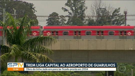 Trem para o Aeroporto de Guarulhos começa a funcionar após 14 anos de atraso