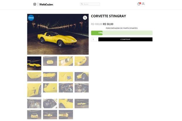 As promoções de carros são uma maneira de atrair clientes para  (Foto: Reprodução de rede social)