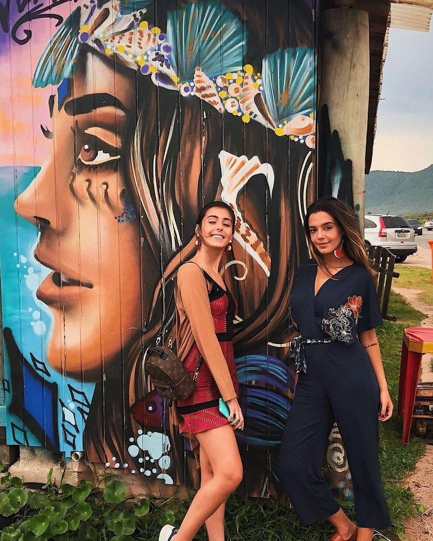 Gabi e Giovanna Lancellotti (Foto: Reprodução/Instagram)
