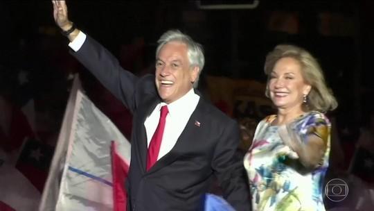 Sebastián Piñera é eleito presidente do Chile pela 2ª vez