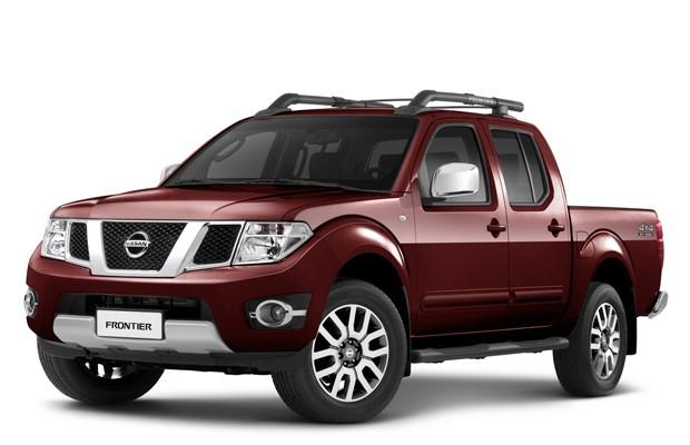 Auto Esporte - Nissan Frontier 2014 chega a partir de R ...