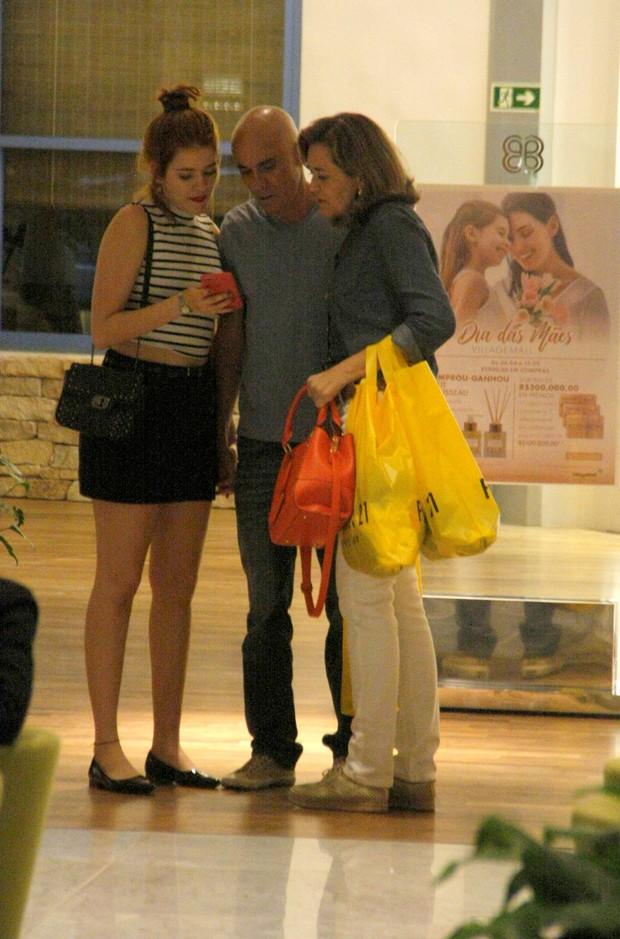 Ana Clara, Ayrton e Eva (Foto: AgNews)
